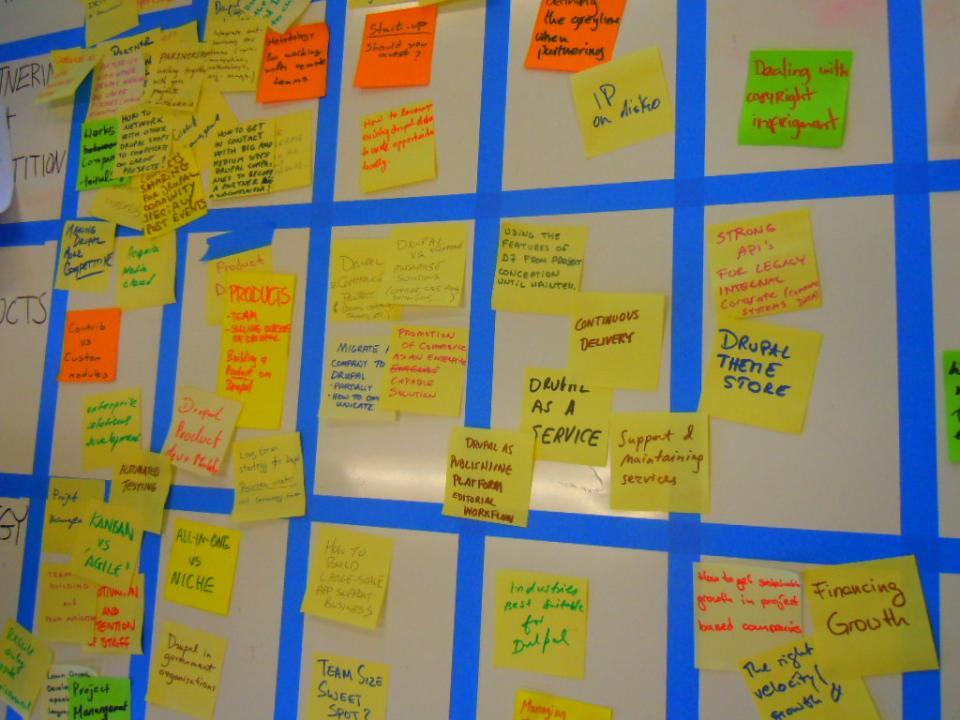 Drupal, un service, une niche, un flux éditorial ?