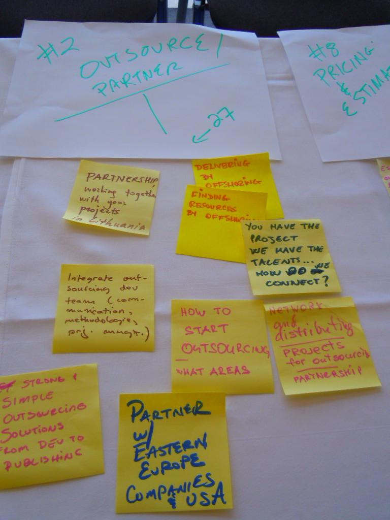 Externalisation et  partenariats