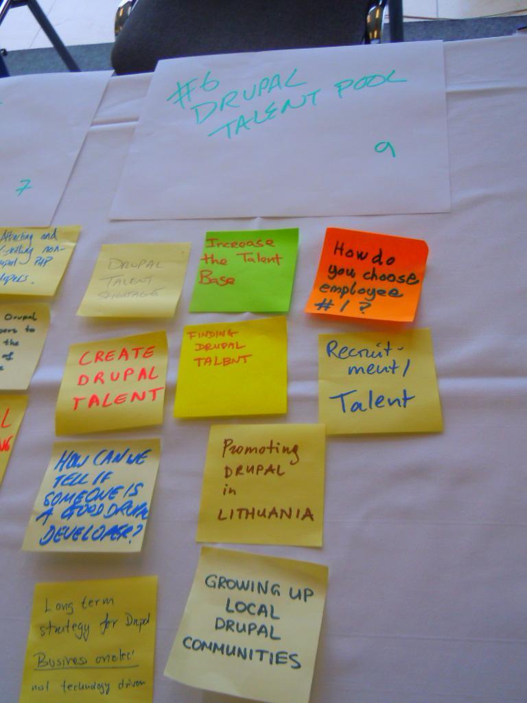 Créer un pool de talents drupaliens