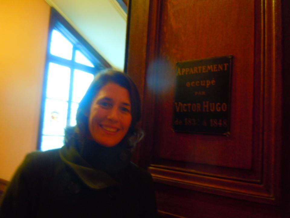 La porte de la chambre de Victor Hugo