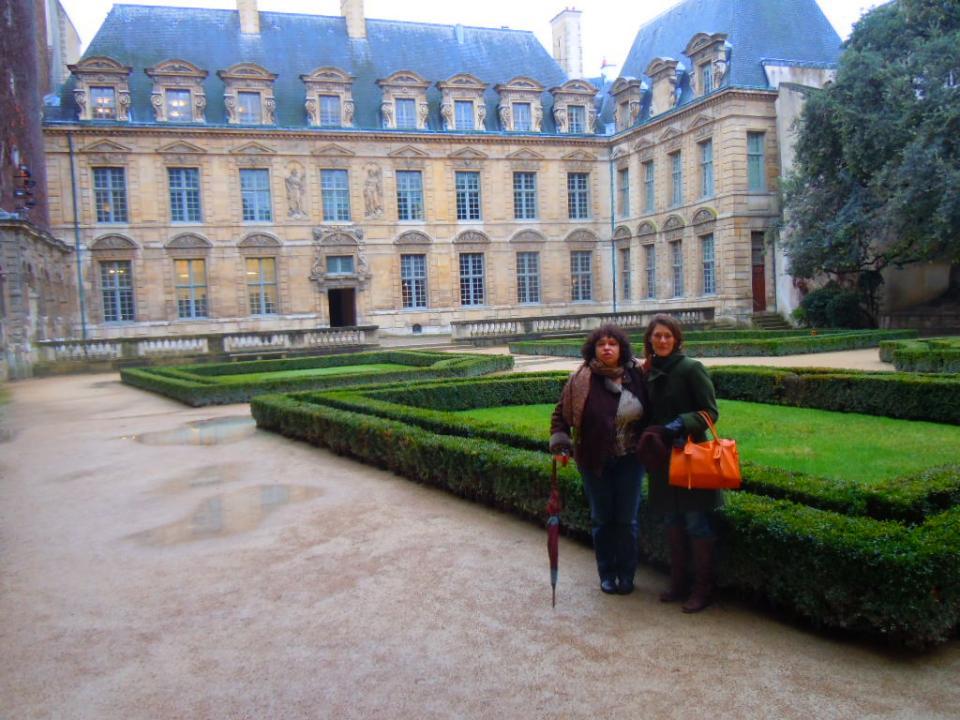 Les jardins de l'Hôtel de Sully