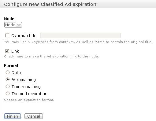 La nouvelle intégration CTools/Panels dans Classified Ads 3.0 RC2
