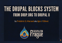 Blocks from drop.org to Drupal 8 and beyond