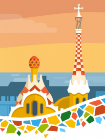Illustration de Drupalcon à Barcelone