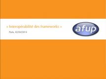 Copie d'écran: interopérabilité des frameworks PHP - AFUP