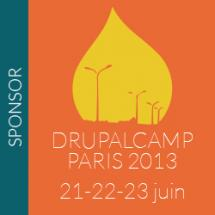 Sponsoring Drupalcamp Paris 2013