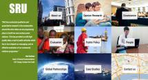 Site de Sustainability Research Unit